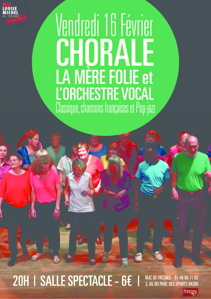 Affiche Chorale 16-02-18